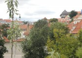 Výhled z oken Thurn-Taxisova paláce. Foto: Eva Kaplanová