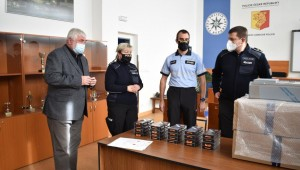 Praha 11: Dar pro policisty