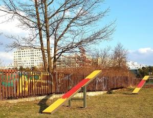 Dvě nová hřiště pro pejskaře v Praze 11