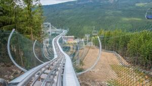 Tip na výlet: Na Dolní Moravě se svezete na nejdelší bobové dráze u nás