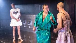 Zkrocení zlé ženy aneb Divoká pánská jízda v Divadle pod Palmovkou