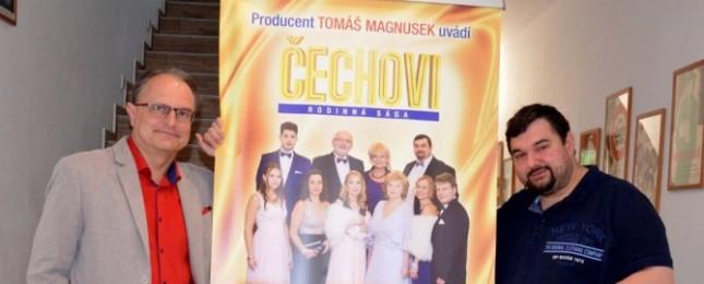 Nový seriál Čechovi bude mít i vlastní a velmi pikantní knihu