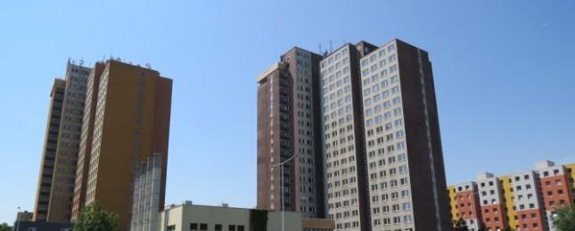 Pokračuje rekonstrukce bývalé ubytovny Sandra