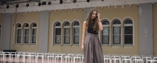 Denisa Dovala předvedla novou kolekci s názvem I.N.F.O.R.M.E.L