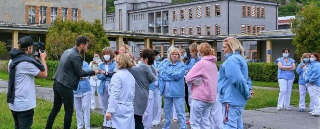 Marek Ztracený pozval zdravotníky na koncert