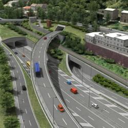 Radlická radiála: Veřejnosti bude představena studie možností dopravního zklidnění Jinonic