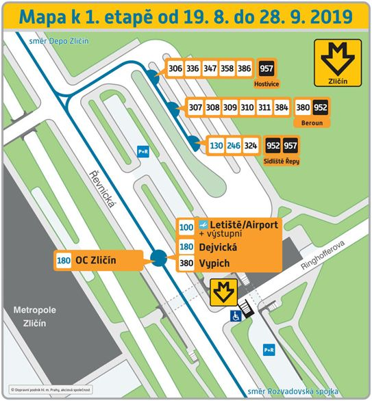 Zacina Oprava Autobusoveho Terminalu Na Zlicine Skonci V