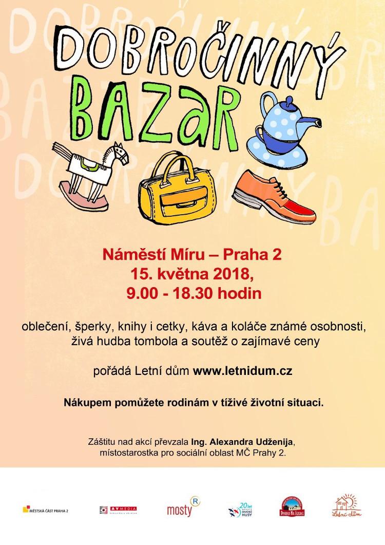 Charitativní bazar na náměstí Míru - Pražský patriot b2a77044a8