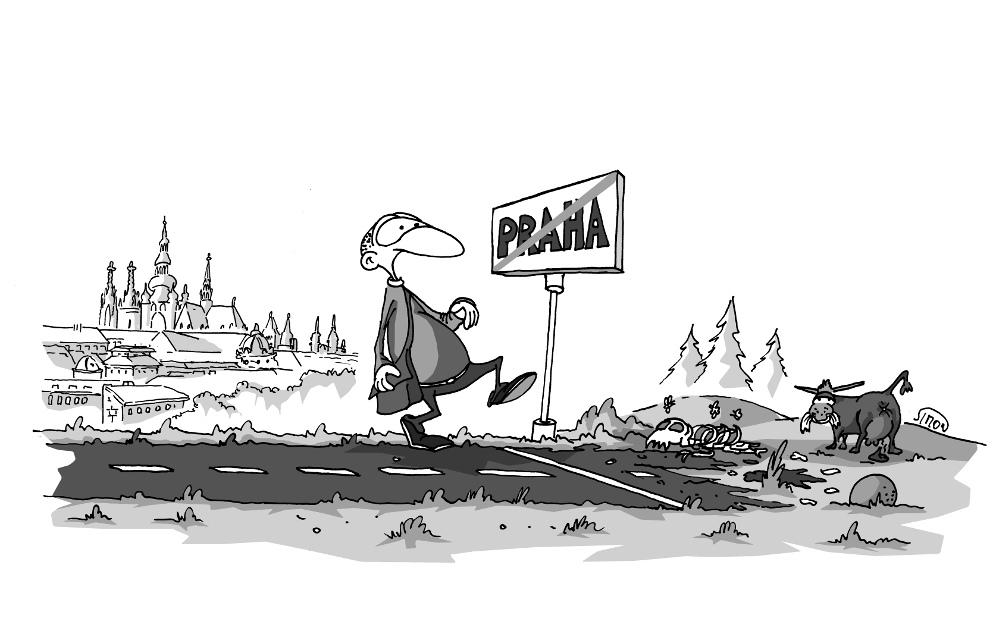 Ctvrt Kila Cuk Ukaze Kreslene Vtipy Na Tema Praha Prazsky Patriot