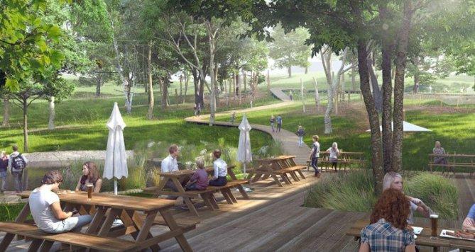 Modřanský dvůr, nové přírodní místo pro volný čas a rekreaci