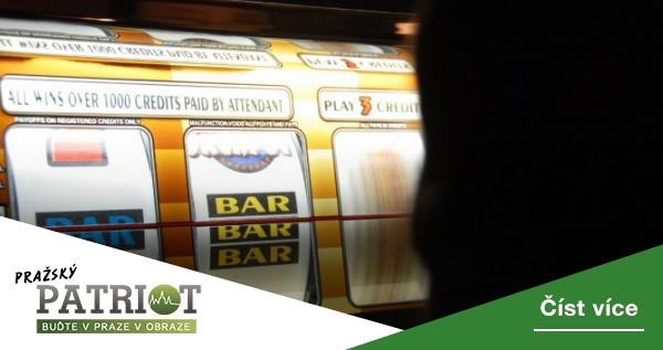 Praha předala městským částem k připomínkám návrh vyhlášky zakazující hrací automaty