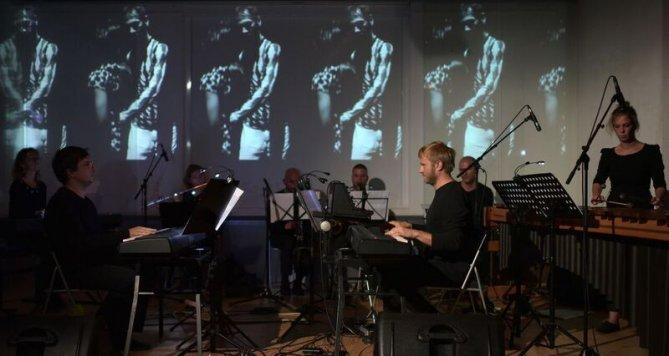 Koncert interdisciplinární skupiny Cluster ensemble