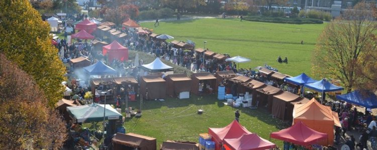 Festival ambasád představí na farmářských trzích gastronomii a kulturu čtyř desítek zemí