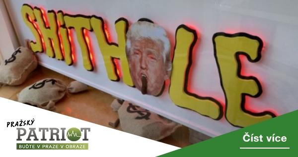 Fusionisté se budou na Staroměstském náměstí loučit s Trumpem, dojde i na sestřih jeho absurdních výroků