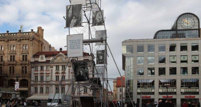 Václavské náměstí má novou dominantu, vypadá jako ruské kolo!